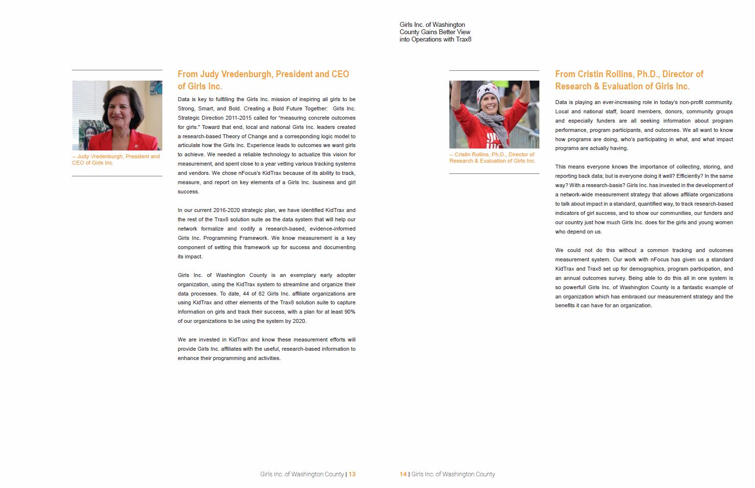 Case Study Girls Inc Washington 13-14
