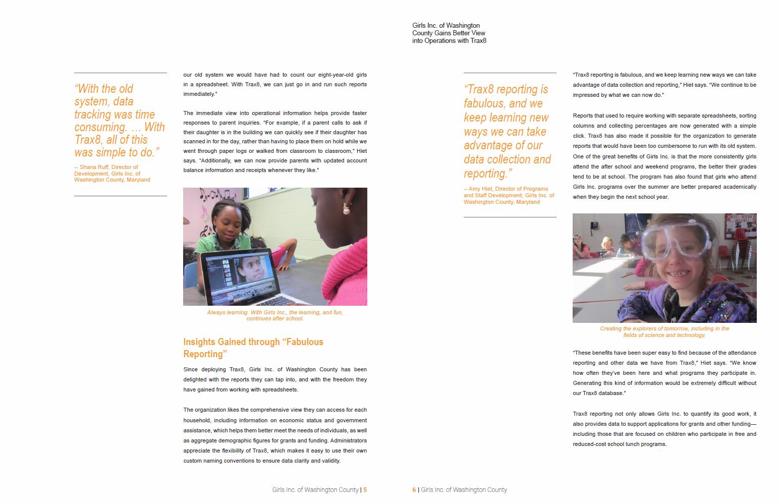 Case Study Girls Inc Washington 7-8